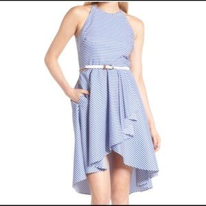 Eliza J striped dress